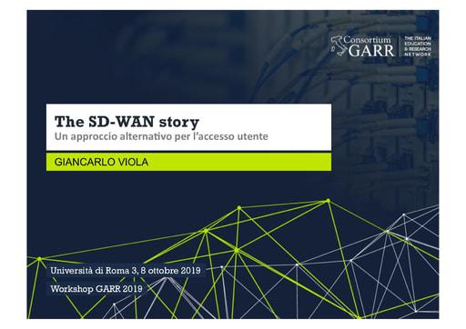 Workshop GARR 2019 - Presentazione - Viola