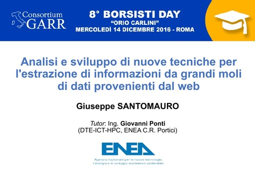 8 Borsisti Day - Giuseppe Santomauro