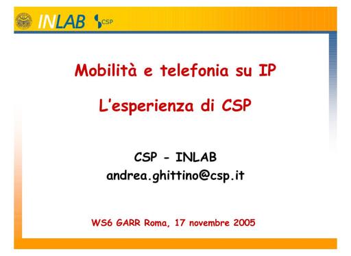 Ws06 - Presentazione - Ghittino