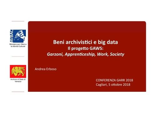 Conferenza GARR 2018 - Presentazione - Erboso