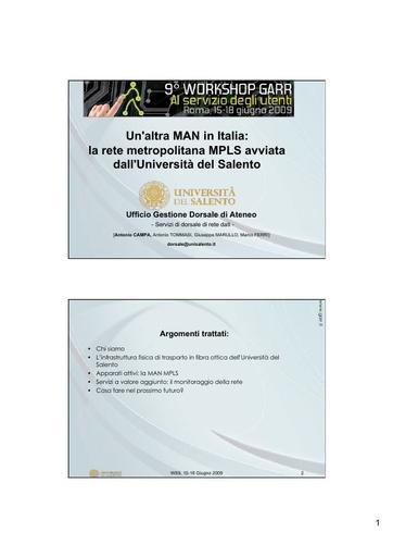 Ws09 - Presentazione - Campa