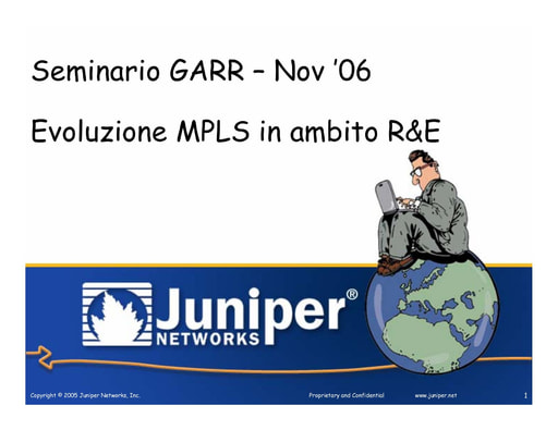 Ws07 - Presentazione - Juniper