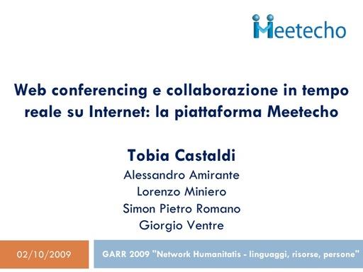 Conferenza GARR 2009 - Presentazione - Castaldi