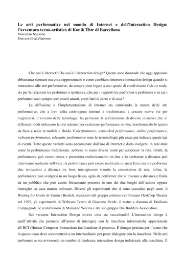 Conferenza GARR 2016 - Paper - Sansone