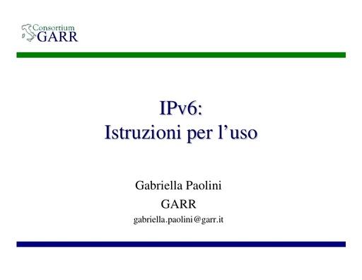 WS05 - presentazione - Paolini