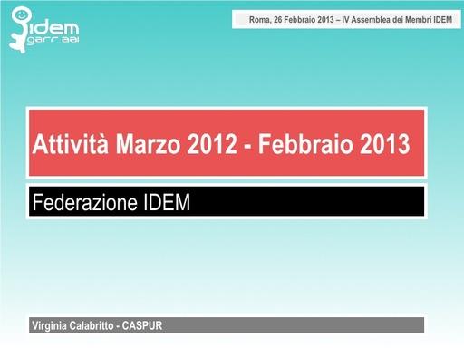 IV IDEM Day - presentazione - Calabritto V.