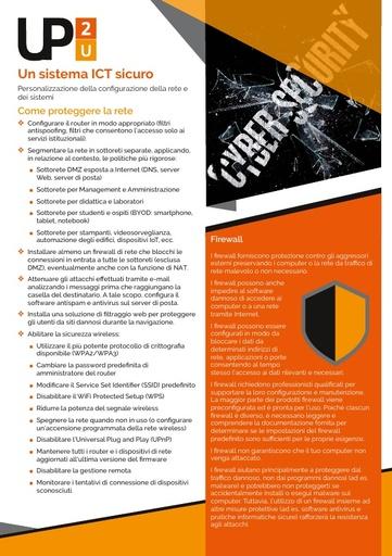 Up2U - 2 - Un sistema ICT sicuro