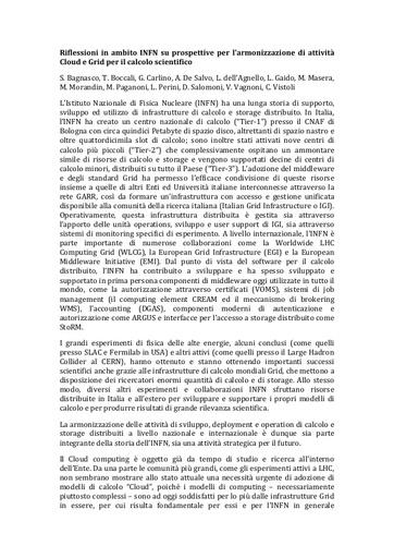 WsCSD12 - Position Paper - D. Salomoni
