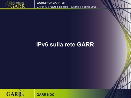 Ws08 - Presentazione - GARR Noc - pdf