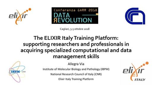 Conferenza GARR 2018 - Presentazione - Via