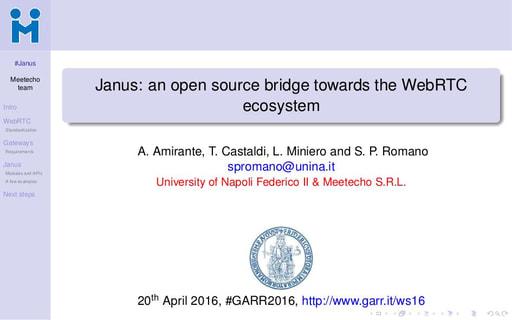 Ws16 - Presentazione - S. P. Romano