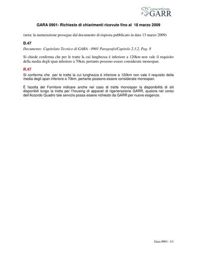 Gara0901-20090319-Richieste-di-chiarimenti