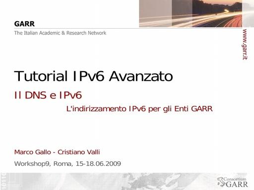 Ws09 - Presentazione - Gallo - Valli