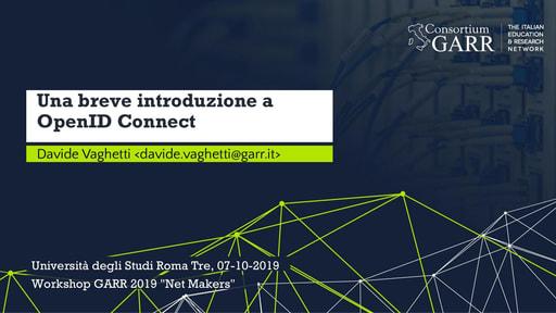 Workshop GARR 2019 - Presentazione - Vaghetti