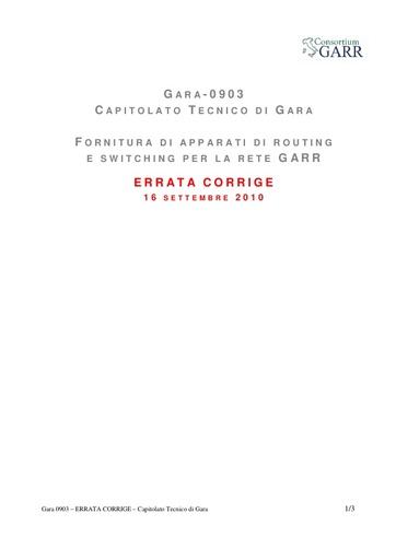 GARA-0903-ERRATA-CORRIGE-Capitolato-Tecnico-20100916