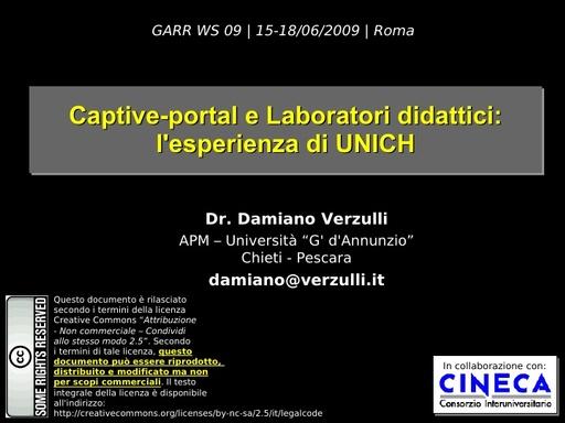 Ws09 - presentazione - Verzulli - 1
