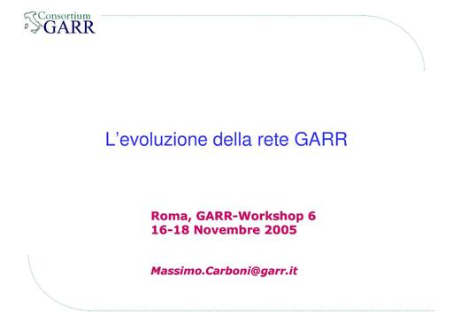 Ws06 - Presentazione - Carboni