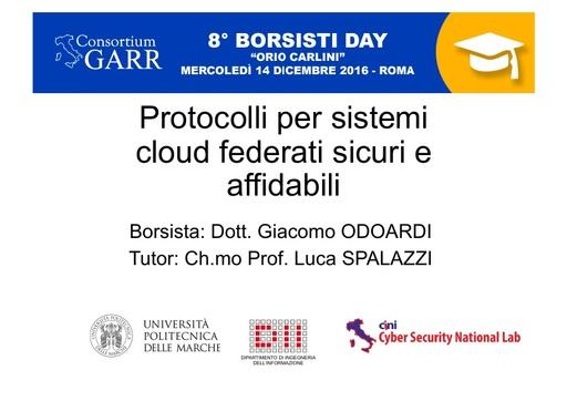 8 Borsisti Day - Giacomo Odoardi