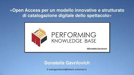 Conferenza GARR 2019 - Presentazione - Gavrilovich