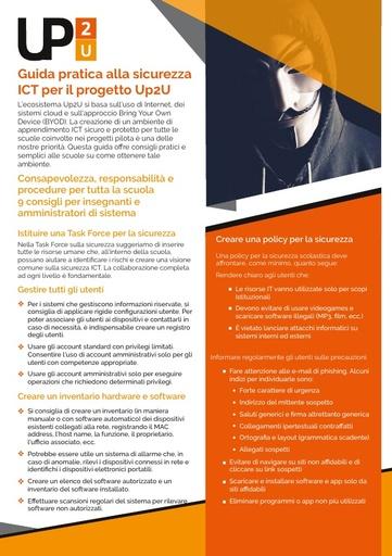 Up2U - 1 - Guida pratica alla sicurezza ICT