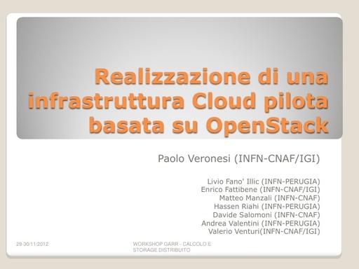 WsCSD12 - Presentazione - P. Veronesi