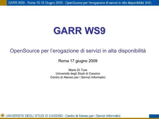 Ws09 - Presentazione - Di Ture