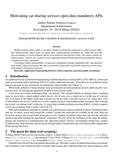 Conferenza GARR 2017 - Paper - Trentini