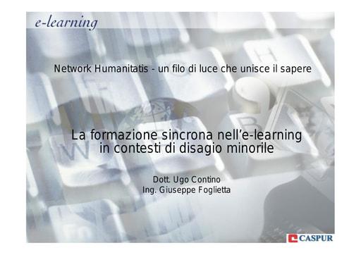 Conferenza GARR 2007 - Presentazione - Contino - Foglietta