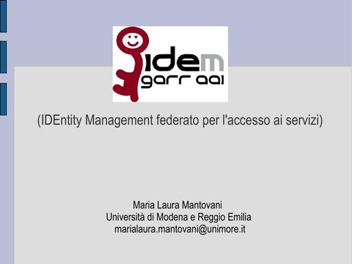 Ws08 - Presentazione - Mantovani - Tut