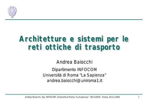 WS05 - presentazione - Baiocchi