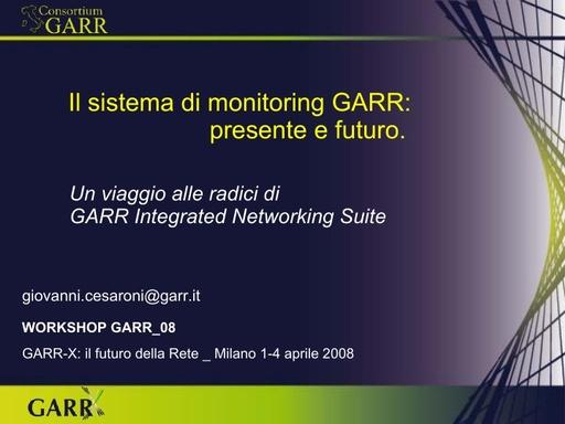 Ws08 - Presentazione - Cesaroni