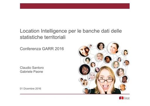 Conferenza GARR 2016 - Presentazione - Santoro