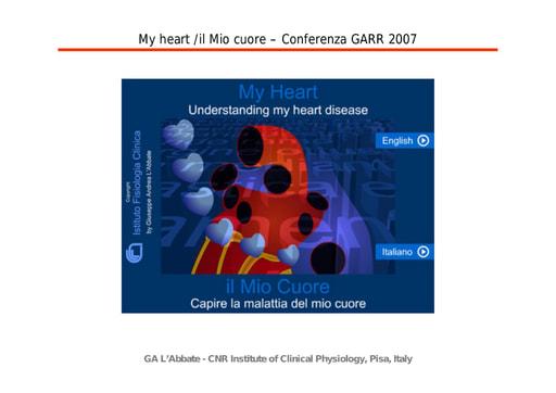Conferenza GARR 2007 - Presentazione - L'Abbate