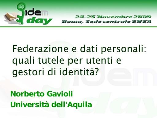 I IDEM Day - presentazione - Gavioli
