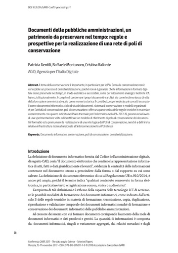 Selected Papers Conferenza 2017 - 11 - Gentili
