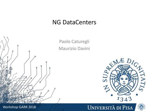 WS18 - M. Davini - Datacenter Nuova Generazione