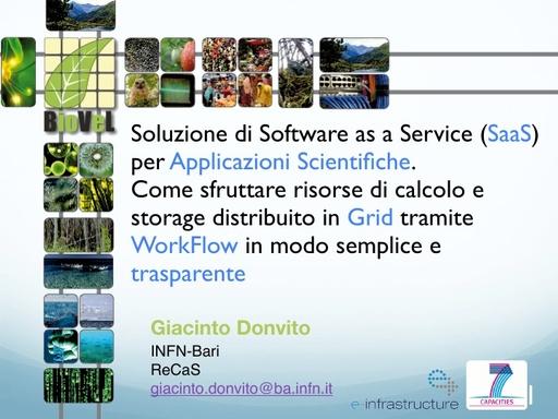 WsCSD12 - Presentazione - G. Donvito