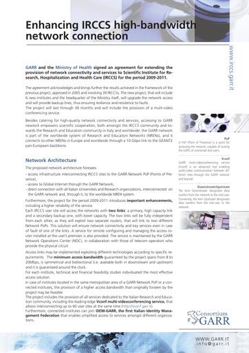 Leaflet IRCCS Eng-May09