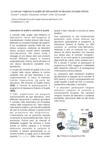 Conferenza GARR 2011 - Full abstract - Conte R. - Renieri A.