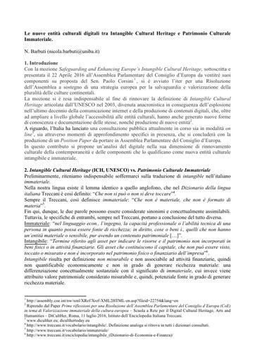 Conferenza GARR 2016 - Paper - Barbuti