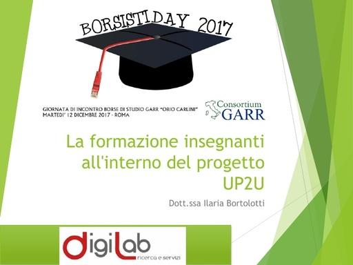 Borsisti Day 2017 - Ilaria Bortolotti