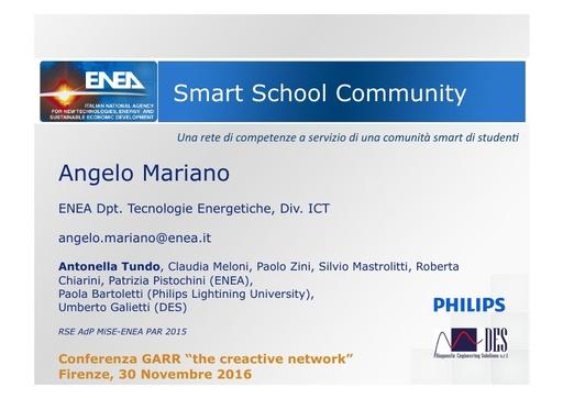 Conferenza GARR 2016 - Presentazione - Mariano