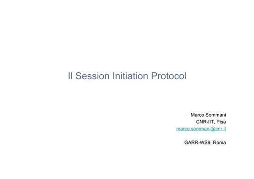 Ws09 - Presentazione - Sommani