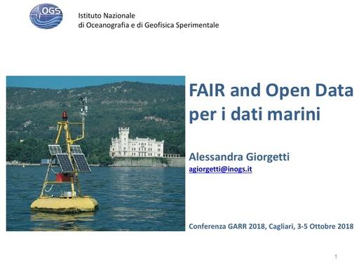 Conferenza GARR 2018 - Presentazione - Giorgetti
