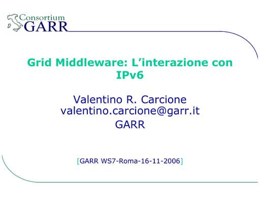 Ws07 - Presentazione - Carcione