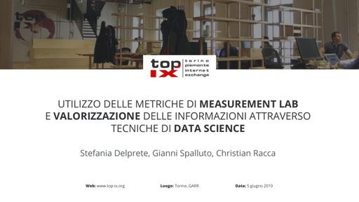 Conferenza GARR 2019 - Presentazione - Delprete