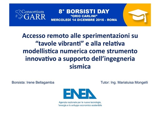 8 Borsisti Day - Irene Bellagamba