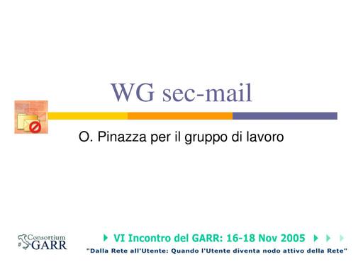 Ws06 - Presentazione - Pinazza