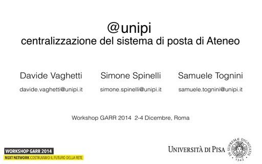 Ws14 - Presentazione - S. Spinelli