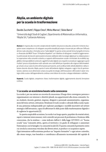 Selected Papers Conferenza 2018 - 09 - Zucchetti